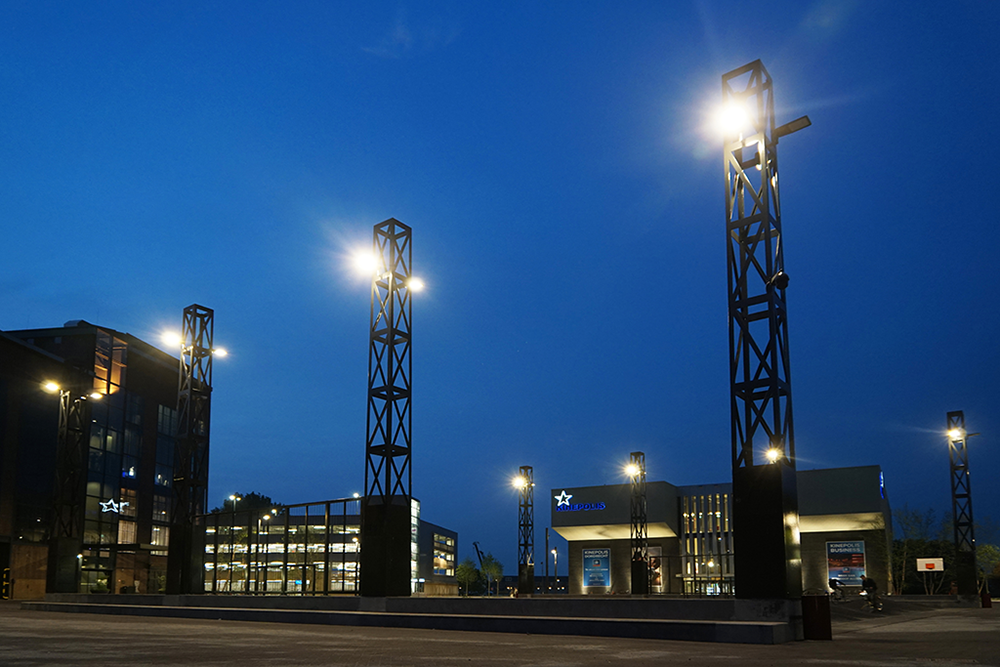 Merwestaal takes Energieplein Dordrecht with steel masts to the next level